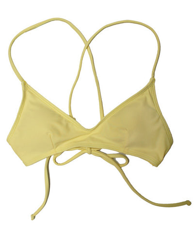 Kovey - Swell Cross Back Bikini Top in Mellow - Beachbliss Swimwear & Apparel - 1