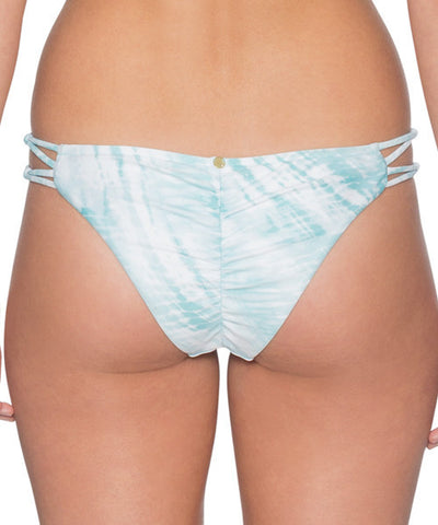 B. Swim Shoreline Tie Dye Blue - Palm Pucker Pant Bikini Bottom