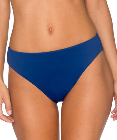 Swim Systems Skipper - High Noon High Waist Bikini Bottom - Beachbliss Swimwear & Apparel - 1