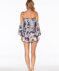 L*Space Polynesian Palm Soho Romper