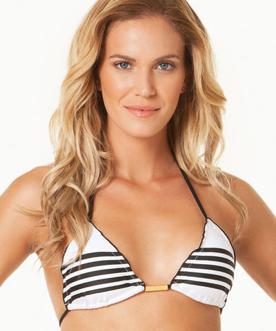 ViX Stripes - Ripple Triangle Bikini Top - Beachbliss Swimwear & Apparel - 1
