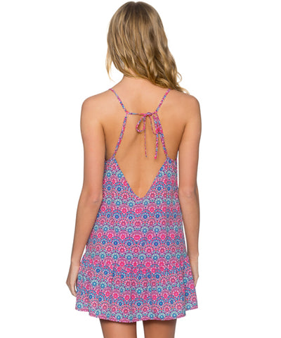Sunsets Separates Stained Glass - Riviera Cover Up Dress