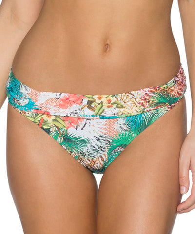 Sunsets Separates Tahitian Dream - Unforgettable Shirred Waist Bikini Bottom