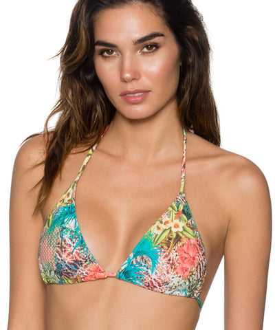 Sunsets Separates Tahitian Dream - Starlette Slide Triangle Bikini Top