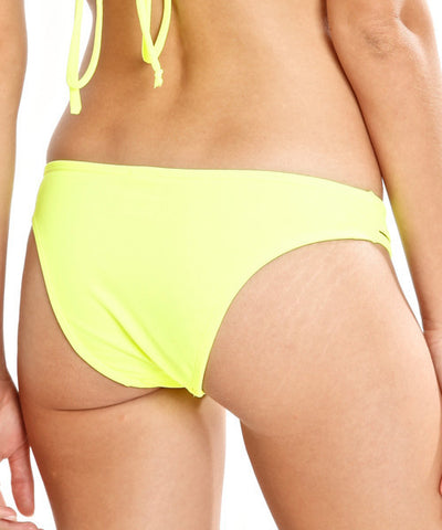 Peixoto - Balata Bikini Bottom in Neon Yellow - Beachbliss Swimwear & Apparel - 2