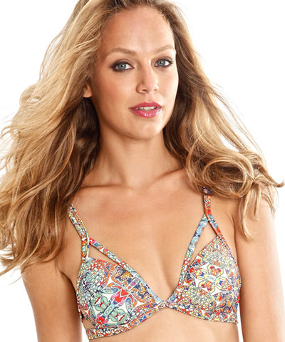 Peixoto - Takari Bikini Top in Mosaic Beach - Beachbliss Swimwear & Apparel - 1