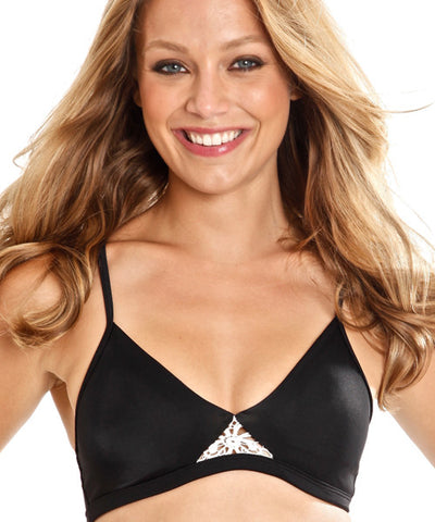 Peixoto - Titi Bikini Top in Black - Beachbliss Swimwear & Apparel - 1
