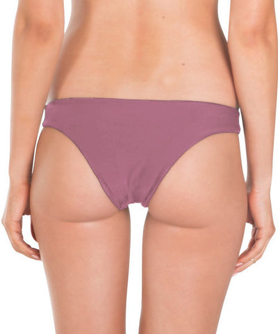 Tori Praver - Chiara Bikini Bottom in Mauve - Beachbliss Swimwear & Apparel - 2