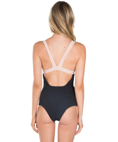 Tori Praver - Isabella Crete Color Block One Piece - Beachbliss Swimwear & Apparel - 2