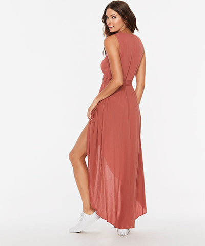 L*Space Twilight Wrap Cover Up Dress