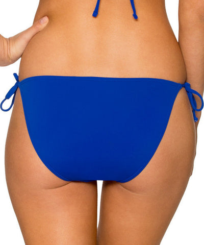 Sunsets Separates Ultra Blue - California Dreamin' Tie Side Bikini Bottom - Beachbliss Swimwear & Apparel - 2