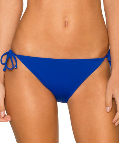 Sunsets Separates Ultra Blue - California Dreamin' Tie Side Bikini Bottom - Beachbliss Swimwear & Apparel - 1
