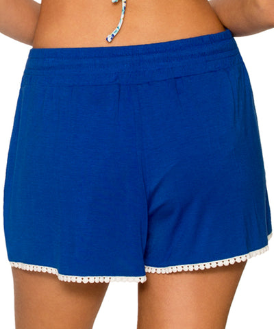 Sunsets Separates Ultra Blue - Island Short - Beachbliss Swimwear & Apparel - 2