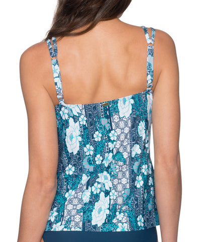 Sunsets Separates Vintage Blooms - Taylor Underwire Tankini Top
