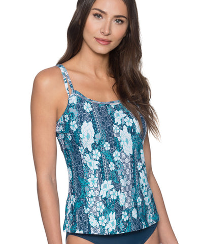 Swim Systems Midnight Safari - Gidget Tankini Top