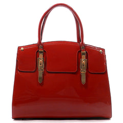 Ellis Patent Satchel -Red