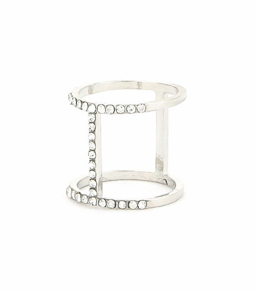Side Bar Midi Ring