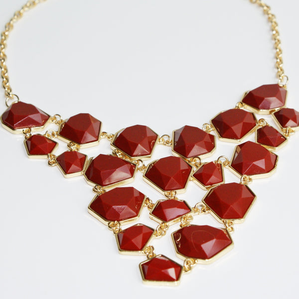 Carrie Bib Necklace