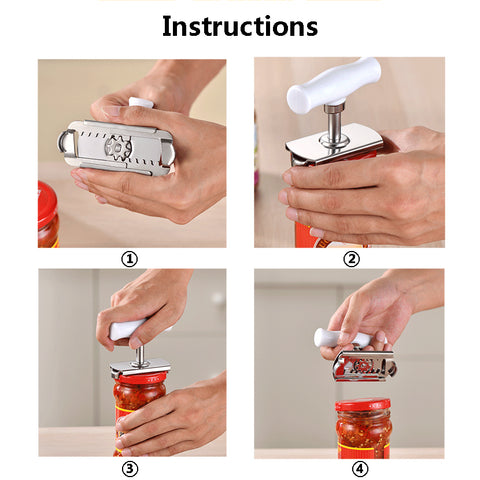 Labor-Saving Can Opener