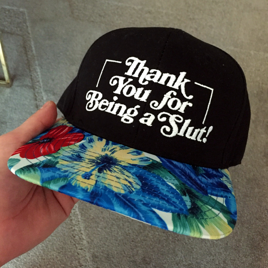 THANK YOU FOR BEING A SLUT FESTIVAL EDITION SNAPBACK