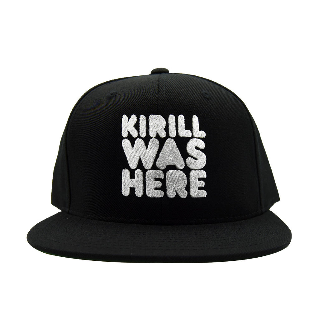KIRILL WAS HERE SNAPBACK