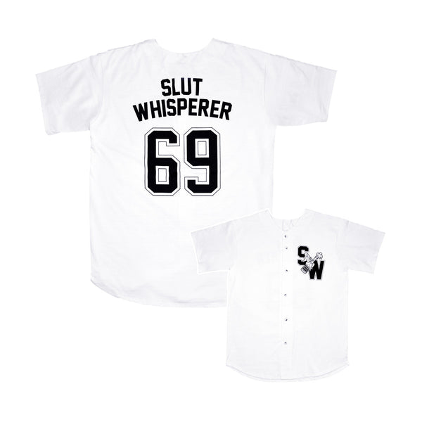SLUT WHISPERER BASEBALL JERSEY
