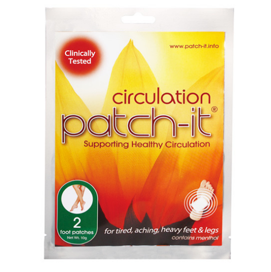 CIRCULATION PATCH-IT: 2 PACK