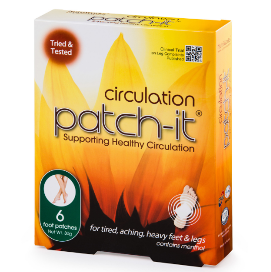 CIRCULATION PATCH-IT:  6 PACK