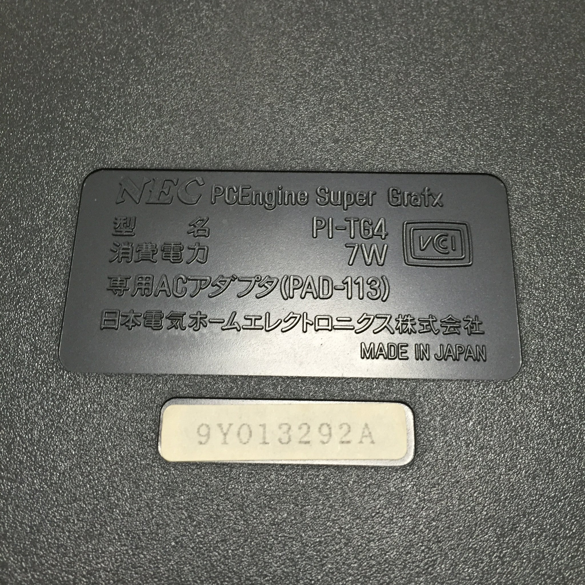 Super Grafx System with Daimakaimura
