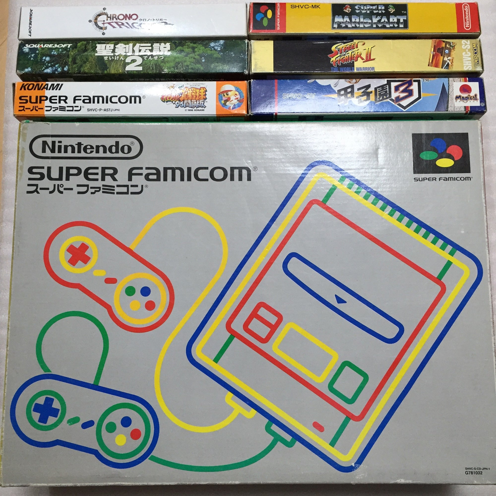 1 CHIP Super Famicom - set with 6 games - RetroAsia - 1