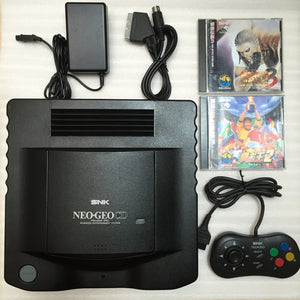 NeoGeo CD System + 2 games and RGB cable set