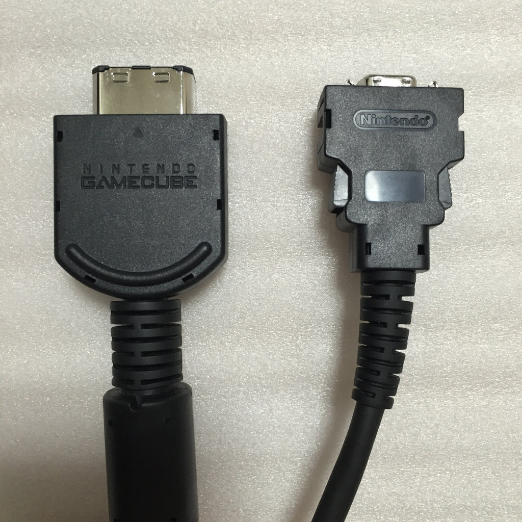 Gamecube D-Terminal Cable with Component Adapter