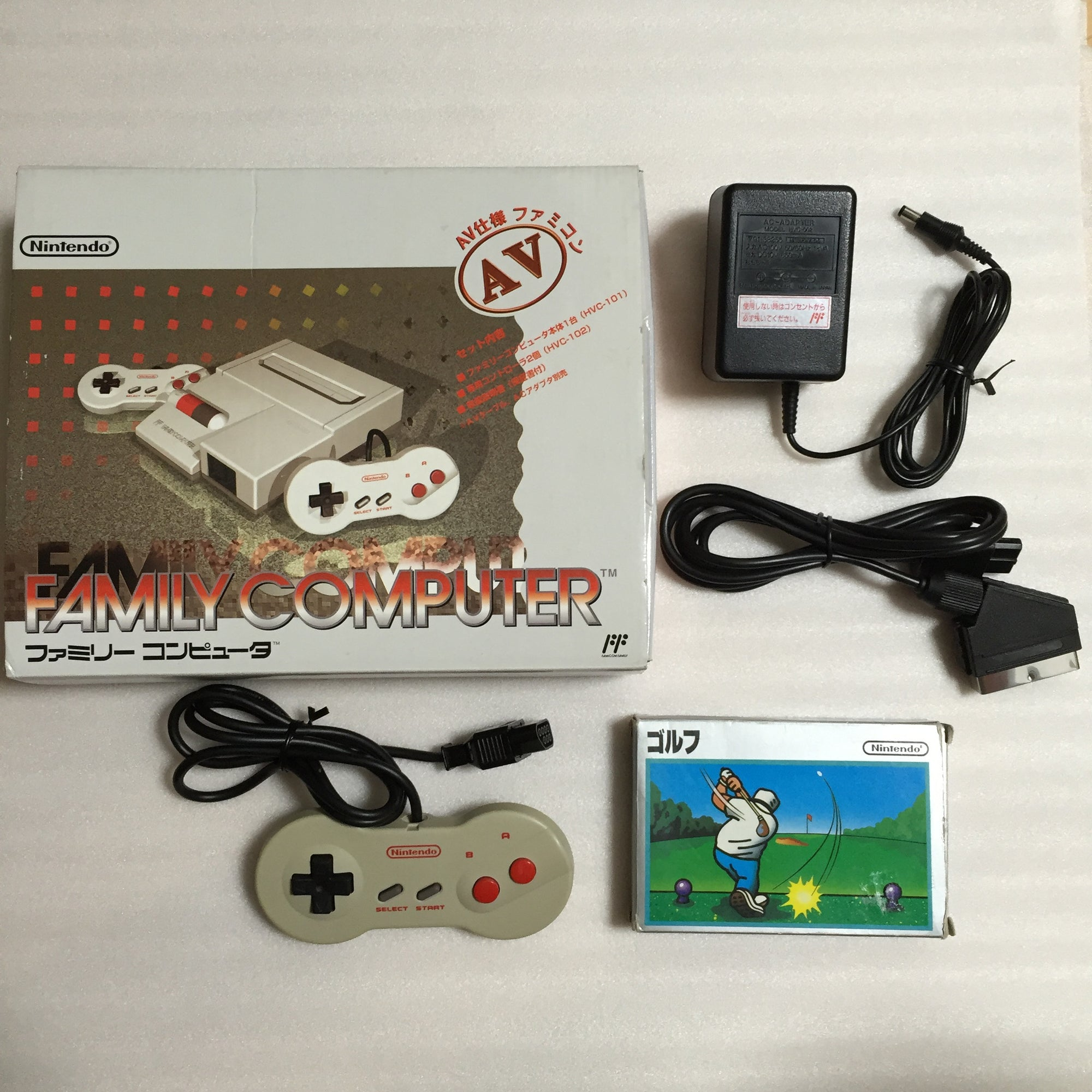 Boxed NESRGB Modded AV Famicom set