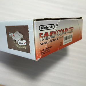 Boxed NESRGB Modded AV Famicom - Punch-out!! set