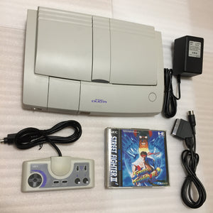 PC Engine Duo-R with RGB kit - Street Fighter 2 ' set