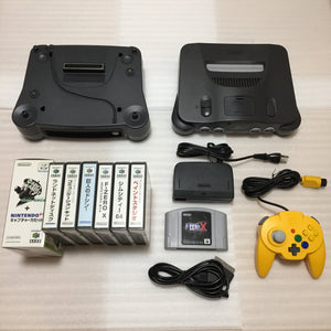 Nintendo 64 / 64DD set with N64RGB kit and Hori pad controller