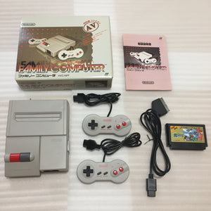 Boxed AV Famicom with NESRGB kit - Makaimura set