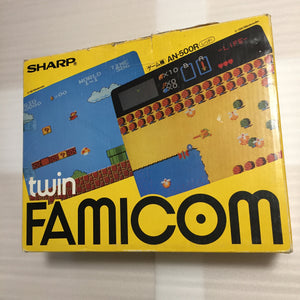 Boxed NESRGB Modded Twin Famicom set (AN-500R)