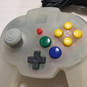 2 Hori Pad controllers for Nintendo 64