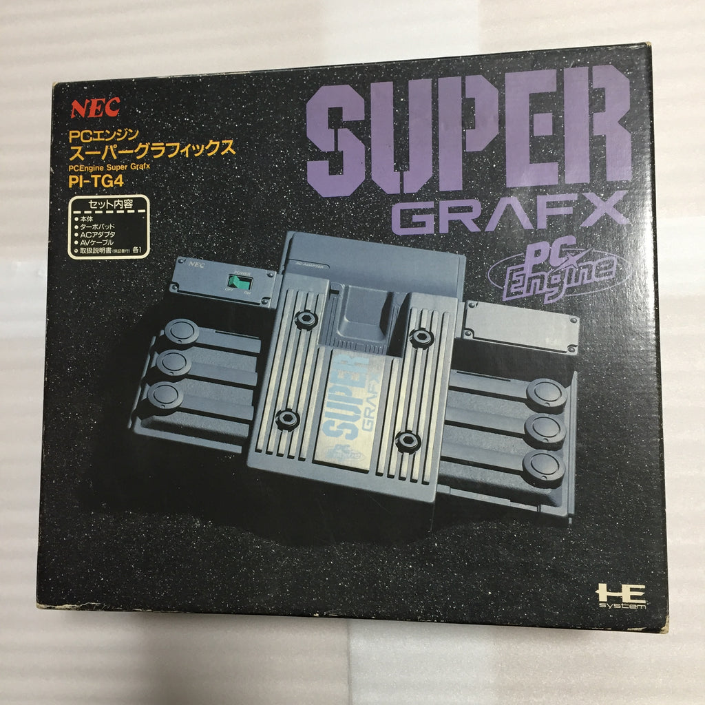 Boxed Super Grafx with RGB kit