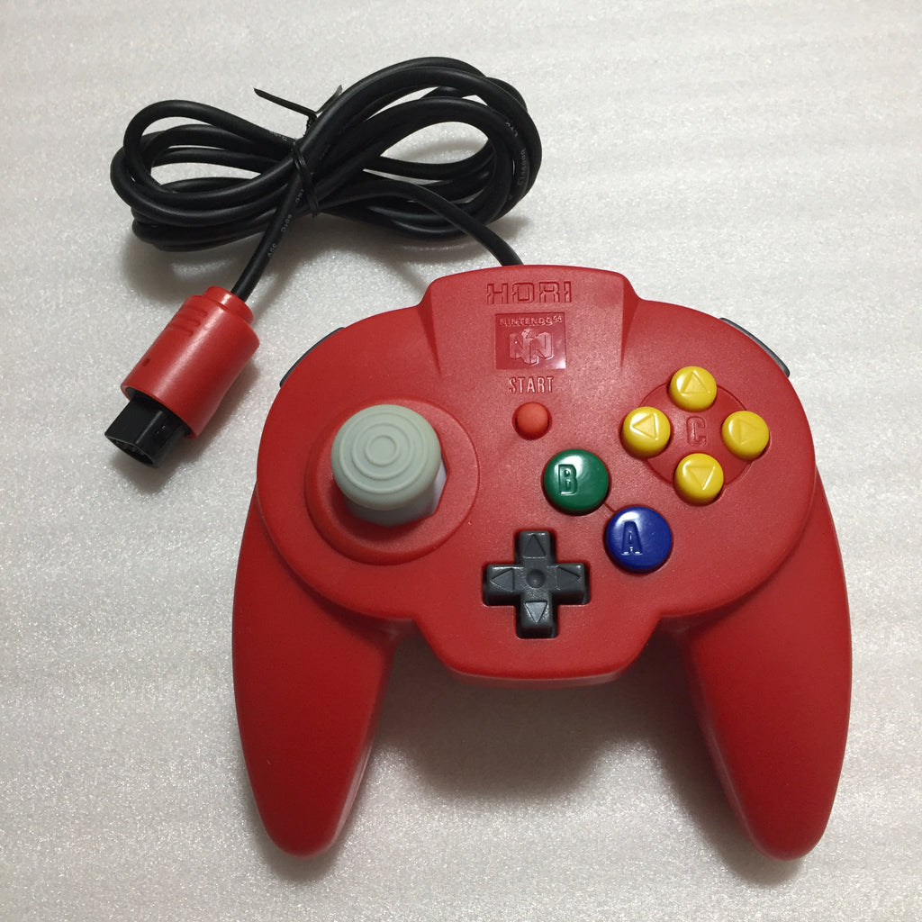3 Hori Pad controllers for Nintendo 64