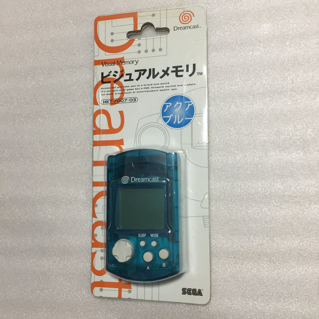 Dreamcast Millenium Controllers and clear VMU set