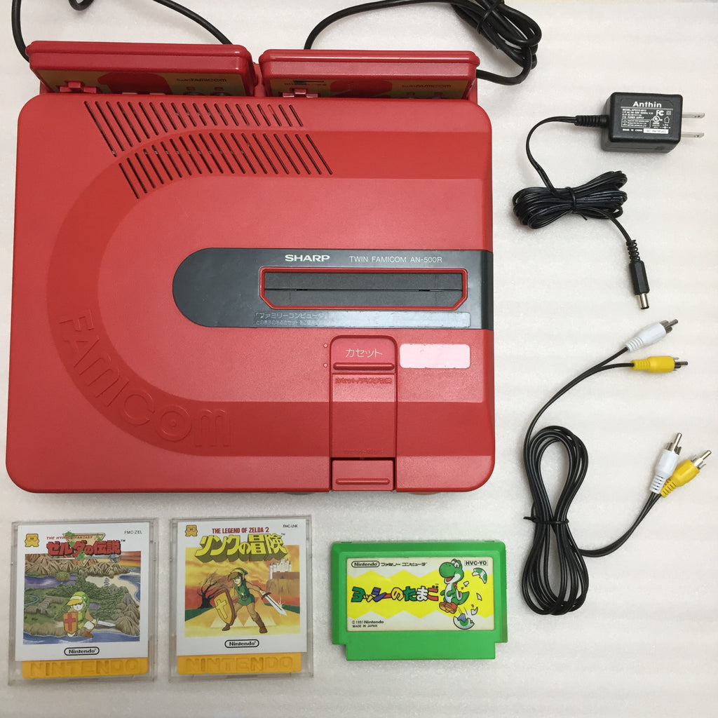 Twin Famicom set (AN-500R)