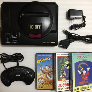 Megadrive - Region free with RGB cable - Disney set