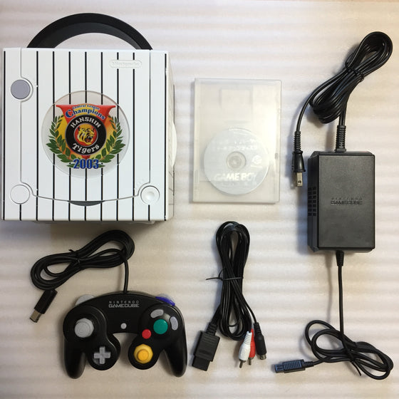 Gamecube System - Hanshin Tigers Edition set - with JP/US switch