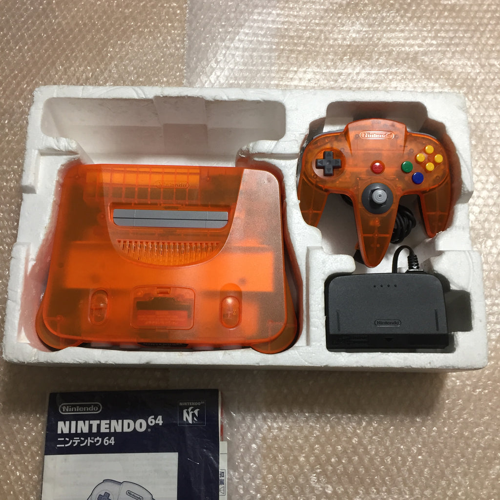 Daiei Hawks Nintendo 64 in box set with ULTRA HDMI kit - compatible with JP and US games - with matching Game Boy Color