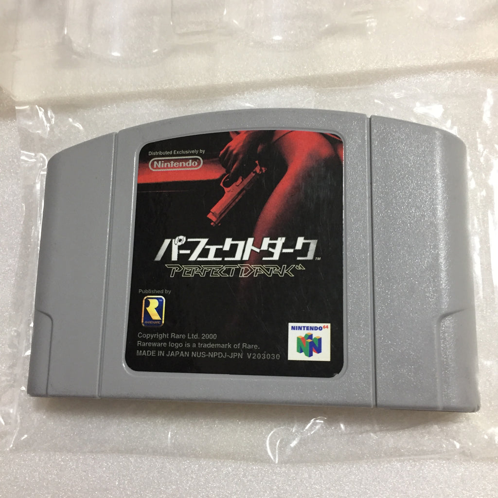 Nintendo 64 in box set with ULTRA HDMI kit - compatible with JP and US games - Perfect Dark set