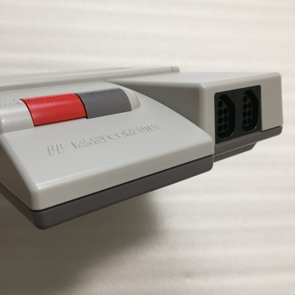 AV Famicom with NESRGB kit - NES adapter set