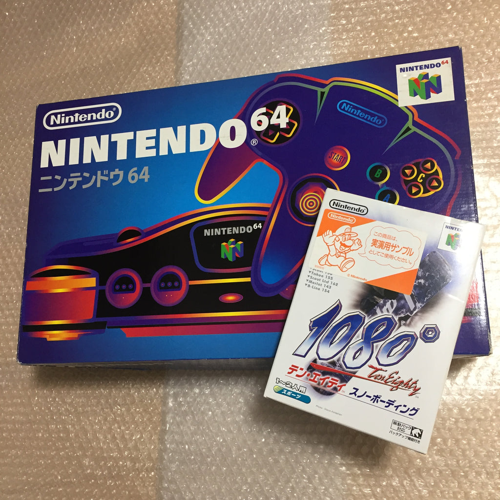Nintendo 64 in box set with ULTRA HDMI kit - compatible with JP and US games - 1080 snowboarding set