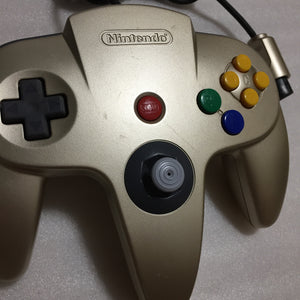 Gold Nintendo 64 set with ULTRA HDMI kit - compatible with JP and US games - F-Zero X set